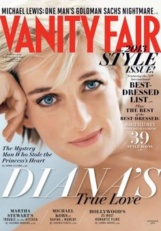 Princess Diana, photographed by Mario Testino in London, March 1997. The September 2013 Vanity Fair features the late Princess Diana on its cover. Inside, the magazine discusses her relationship with Pakistani heart surgeon Hasnat Khan