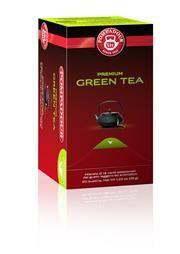 GREEN TEA POMPADOUR -   Tè verde dal gusto leggero ed aromatico, proveniente da giardini selezionati. Ingredienti: Tè verde Contenuto per astuccio: 20 x 1,75 g = 35 g