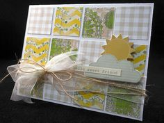 """Sweet Friend Card by *Jingle*, using the Scrapbook Circle """"The Story"""" kit"""