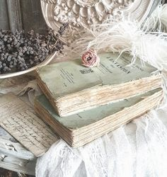 I love shabby old books