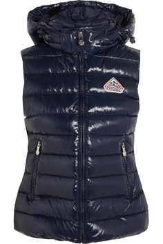 PYRENEX Spoutnic quilted glossed-shell down gilet  $375.00 https://www.net-a-porter.com/products/595015