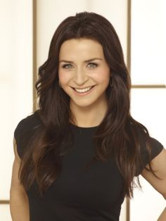 Caterina Scorsone/Amelia Shepherd - one of my current (& new) favorite actresses <3
