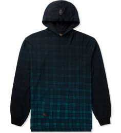 10.Deep Navy Plaid Nightfall Hoodie | HYPEBEAST Store. Shop Online for Men's Fashion, Streetwear, Sneakers, Accessories