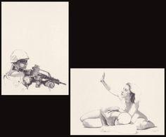 "Saatchi Art Artist Walter Roos; Drawing, ""Violence ( 0:16 )"" #art"