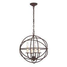 Globe 4 Light Chandelier