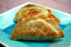 Garlic Chive ManDu | Aeri's Kitchen | Cooking Korean Recipes & Food