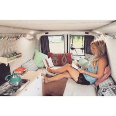Camper van conversions that'll make happy with van girls 28