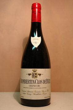 A 1996 Chambertin Clos de Beze, a great red Burgundy Grand Cru from the Cote d'Ore. #wine