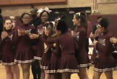 When A Cheerleader With Down Syndrome Was Bullied, These Players Walked Off The Court - BuzzFeed News