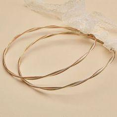 Στέφανα γάμου ΑRTE e ARGENTO 954 Wedding Crowns, Bangles, Bracelets, Gold, Jewelry, Stock Wedding Crowns, Jewlery, Jewerly, Schmuck