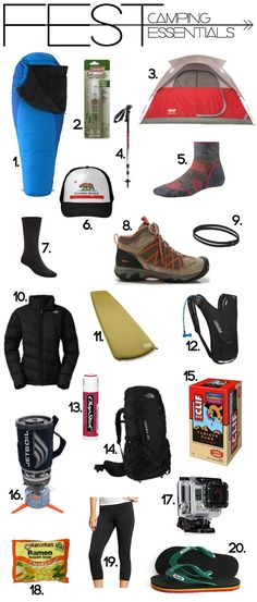 FEST: Camping Essentials