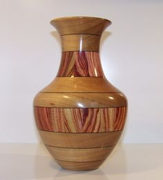 European Birch Wooden Vase 550