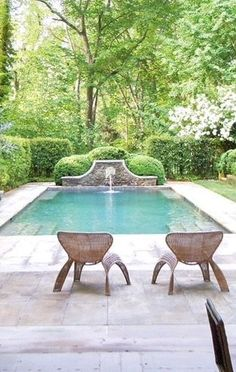 Stock Tank Swimming Pool Ideas, Get Swimming pool designs featuring new swimming pool ideas like glass wall swimming pools, infinity swimming pools, indoor pools and Mid Century Modern Pools. Find and save ideas about Swimming pool designs. Outdoor Pool, Outdoor Spaces, Outdoor Living, Pool Landscape Design, Garden Design, Design Jardin, Luxury Pools, Small Pools, Dream Pools