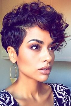 Everyday Short Hairstyles for Black Women ★ See more: http://glaminati.com/short-hairstyles-for-black-women/