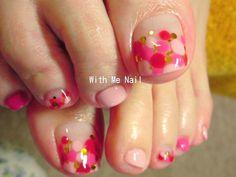 ToManiere: 37 Best Nails Manicure Ideas Ever Fabulous Nails, Gorgeous Nails, Love Nails, Pink Nails, Pretty Nails, My Nails, Pedicure Designs, Toe Nail Designs, Nagel Hacks