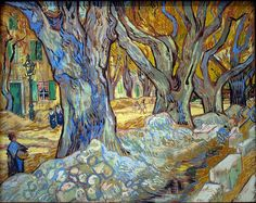 Van Gogh The Large Plane Trees...one of my favorites
