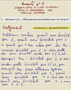 ANTEPRIMA RIDOTTA DI UN ESERCIZIO SVOLTO DI MATEMATICA(ESAME DI STATO DI LICEO SCIENTIFICO, 2014)