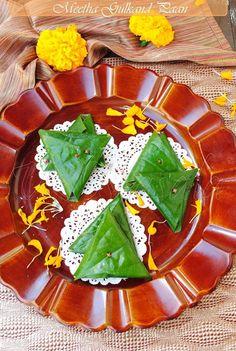 US Masala: Meetha Gulkand Paan/ Betel leaf mouth freshener with rose petal jam