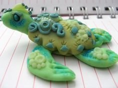 Image detail for -Polymer Clay Turtle Baked Ala Christi Friesen