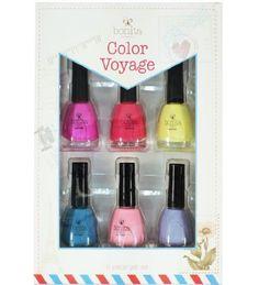 Bonita Pro Color Collection 6 Piece Gift Set: Bright Colors - Handbags, Bling & More!