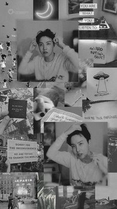 Ideas for grey kpop aesthetic wallpaper Bts Aesthetic Wallpaper For Phone, Black Aesthetic Wallpaper, Bts Wallpaper, Aesthetic Wallpapers, Foto Bts, J Hope Twitter, J Hope Smile, Hoseok Bts, Jhope Bts