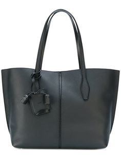TOD'S trapeze tote bag. #tods #bags #leather #hand bags #tote #
