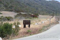 Leo Carrillo Sign - Leo Carrillo State Park Campsite Photos - campsitephotos.com