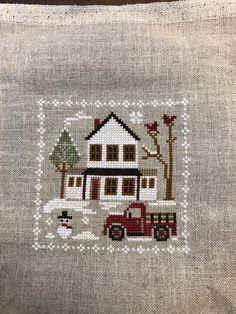 LHN Farmhouse Christmas Grandpa's Pickup