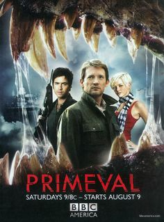 Primeval is a British science fiction television programme produced for ITV by Impossible Pictures. Created by Adrian Hodges and Tim Haines, who previously created the Walking with... documentary series. Primeval follows a team of scientists tasked with investigating the appearance of temporal anomalies across Great Britain through which prehistoric and futuristic creatures enter the present.