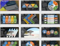 Online Education PowerPoint by SageFox