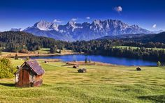 Lake Geroldsee, Germany jigsaw puzzle in Great Sightings puzzles on…