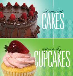 Trey B Cakes | Graphic Design | Sacramento Design | Window Graphics | Uptown Studios