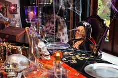 We are a Jacksonville, FL event planning & rental company specializing in events of all types and sizes. Pirate Theme, Event Planning, Pirates, Halloween Decorations, Dining Room, Display, How To Plan, Fall, Floor Space