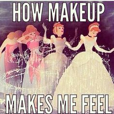 How makeup makes me feel
