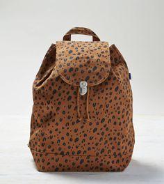 Baggu Leopard Print Backpack