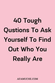 Mar 2020 - 40 Questions To Ask Yourself For Personal Growth, which helps maximize the benefits of every day self reflection to know who you really are. Deep Questions To Ask, 100 Questions, Personal Questions, Positive Thinking Tips, Journal Writing Prompts, Self Care Activities, Self Development, Personal Development, Self Awareness
