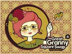 Ravelry: The Great Granny Swap Pattern Book by Karla Fitch...  Free granny squares crochet patterns in a well written booklet!