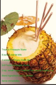 Tropical Pineapple Vi-Shake