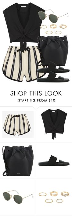 """""""Style #10879"""" by vany-alvarado ❤ liked on Polyvore featuring rag & bone, Alice + Olivia, Mansur Gavriel, Helmut Lang, Topshop and River Island"""