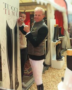 Jerome Guery signing #tucciboots wall of fame at #LGCTHamburg