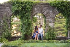 Amanda & Clint's Engagement Session at The Mount in Lenox, MA - Tricia McCormack Photography