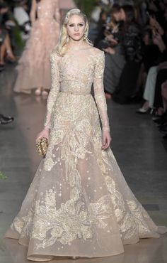 #ElieSaab #Spring2015 #Couture