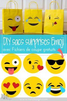 Emoji Party bags | f