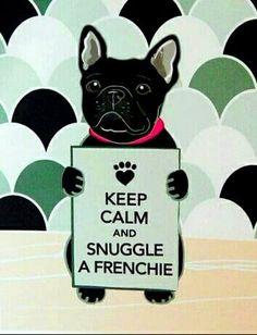 We love Frenchie snuggles! bullymake.com/