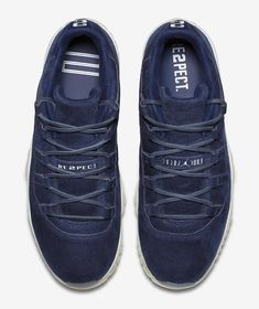 "5bc8fa3fd4e0 Air Jordan 11 Low ""RE2PECT"" for Derek Jeter - EU Kicks  Sneaker Magazine"