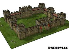 The Complete Medieval Castle Paper Model - by Papermau - Coming Soon! - == - Almost done! Download very soon!