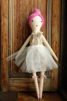 Handmade+Rag+Dolls+by+Gaiia+Kim+OneofaKind+Cloth+Doll+by+GaiiaKim,+$125.00