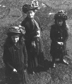 Grand Duchesses Maria, Olga, and Anastasia