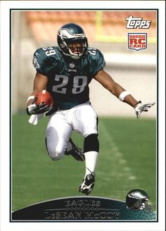 2009 Topps #400 LeSean McCoy RC  new from pack to holders #eagles