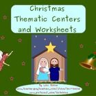 Christmas, Religious, Thematic Centers and Worksheets  ***Common Core Aligned***  This unit contains:  Reading Center Book List Art Center Project ...